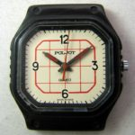 Soviet quartz watch Poljot 2456 USSR 1980s