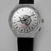 Russian Watch Raketa 24-Hours World Time Antarctic
