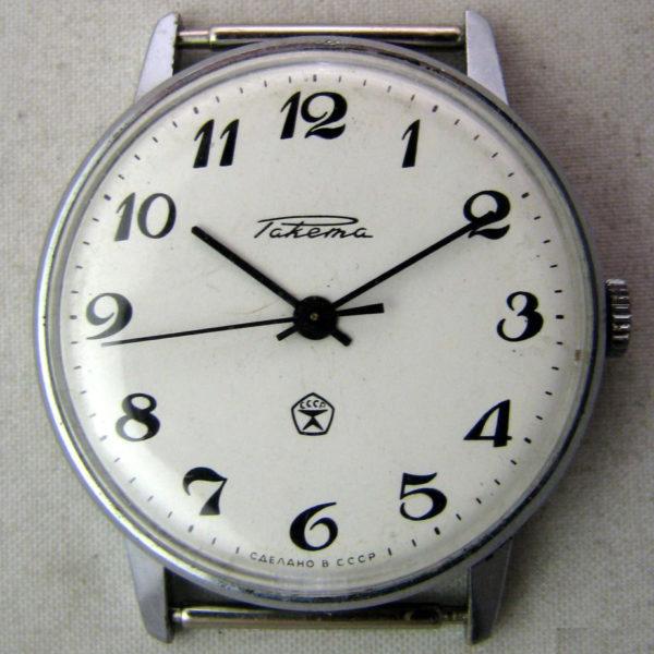 Soviet mechanical watch Raketa 2603 USSR 1960s