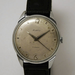 Soviet mechanical watch Raketa USSR 1979