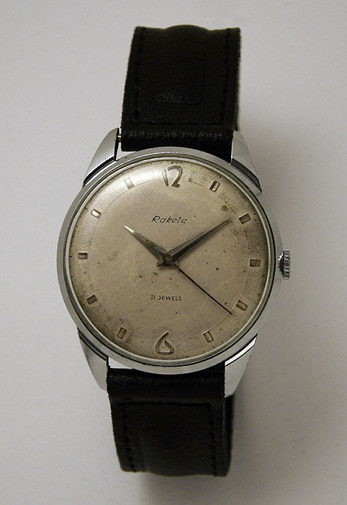 Soviet mechanical watch Raketa USSR 1979