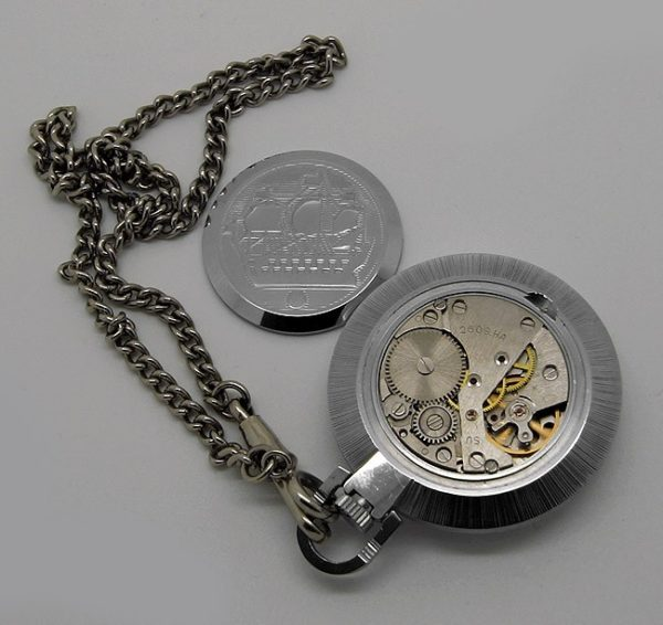 Raketa Russian pocket watch 1995