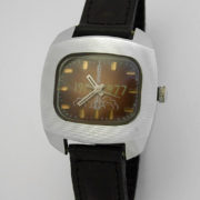 Soviet mechanical watch Raketa Great October Socialist Revolution USSR 1977