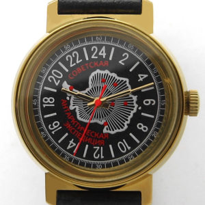 russian 24 hours watch raketa antarctic