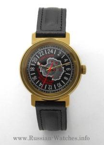 raketa 24 hours watch antarctic