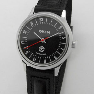 Raketa CLASSIC 24-hour mechanical watch (black2)