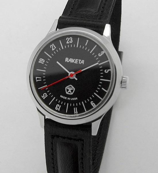 Raketa CLASSIC 24-hour mechanical watch