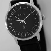 Raketa CLASSIC 24-hour mechanical watch Black