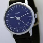 Raketa CLASSIC 24-hour mechanical watch Blue