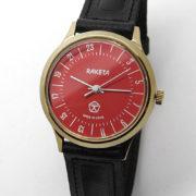 Raketa CLASSIC 24-hour mechanical watch (red2)