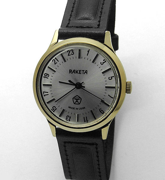 Raketa CLASSIC 24-hour mechanical watch