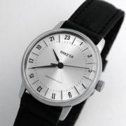 Raketa CLASSIC 24-hour mechanical watch Silver