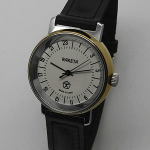 Raketa CLASSIC 24-hour mechanical watch (white3)