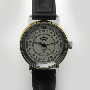 Raketa CLASSIC 24-hour mechanical watch (white4)