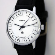 Raketa CLASSIC 24-hour mechanical watch White