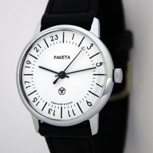 Raketa CLASSIC 24-hour mechanical watch White