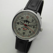 Russian 24-hours Mechanical Watch Sturmovik IL-2