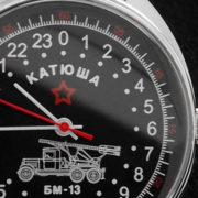 raketa 24-hours watch katyusha
