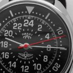 Russian 24-Hours Mechanical Watch PILOT Raketa (black)