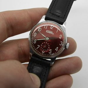 Soviet mechanical watch RAKETA Pobeda USSR 1977