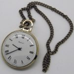 Soviet mechanical pocket watch RAKETA USSR 1985