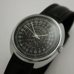 Raketa POLAR BEAR Russian 24-Hour Mechanical Watch Black