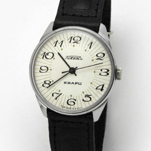 Soviet quartz watch RAKETA USSR 1984