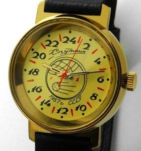 raketa sputnik 1957 russian 24 hours watch