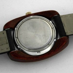 Raketa watch, wooden case USSR 1975