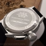 Russian 24-hour mechanical watch Submarine ANTEY (Oscar-II) Black 45 mm