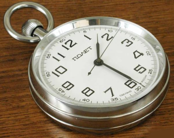 Russian Marine Desk Chronometer Poljot USSR 1995