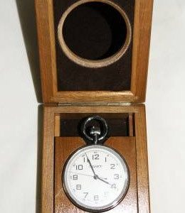 Russian Marine Desk Chronometer Poljot USSR 1995