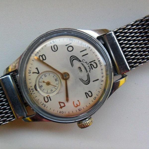 Russian mechanical watch Saturn USSR 1960s