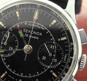 sekonda 3017 russian military chronograph