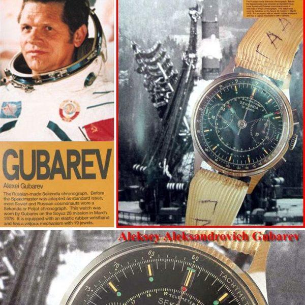 Soviet Vintage Sekonda 3017 Russian Military Chronograph Watch Black