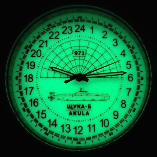 Luminous dial
