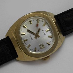 Soviet mechanical watch Slava USSR 1980s