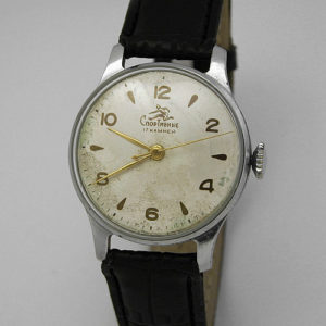 Soviet mechanical watch Sportivnie Kirova USSR 1956