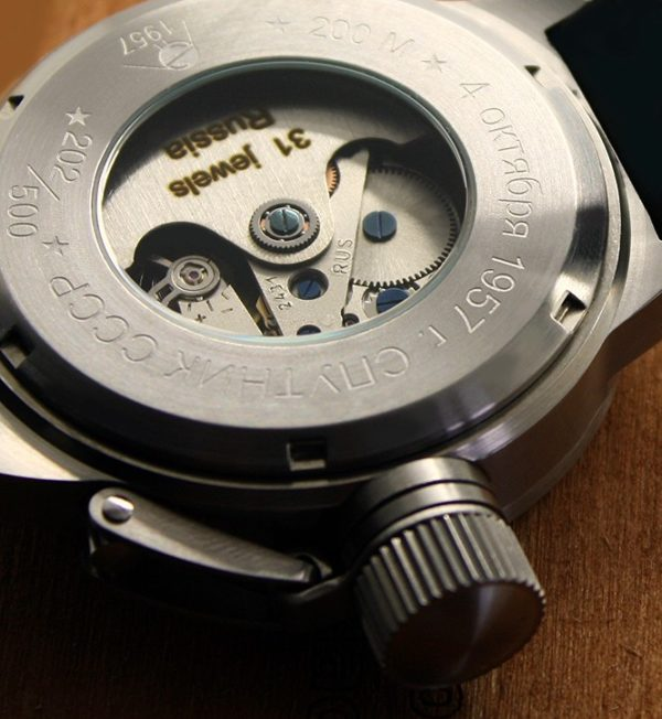 Russian 24-hours automatic watch Sputnik 1957