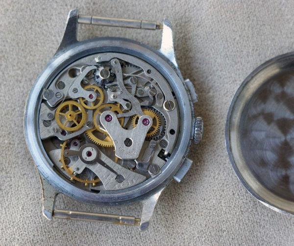 Strela watch, Poljot 3017, Military Chronograph USSR 1960s