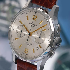 Strela Poljot 3133 Military Chronograph Watch