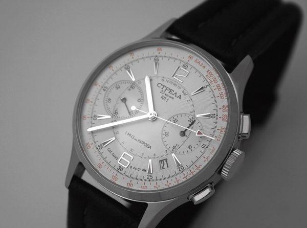 Russian Chronograph Watch POLJOT STRELA 3133