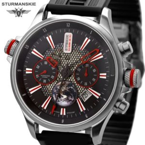 Poljot Sturmanskie Gagarin 50th Anniversary Chronograph Watch 3133/1395546