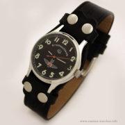 Russian mechanical watch POLJOT Sturmanskie Gagarin black