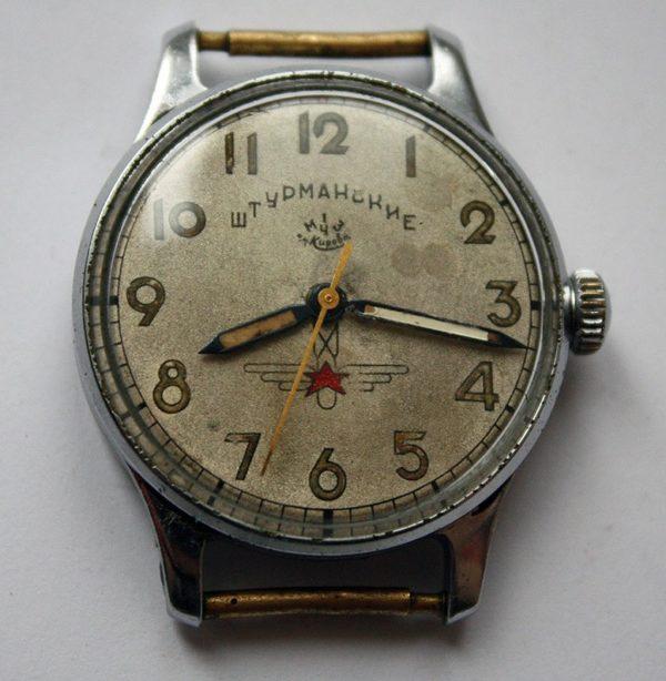 Soviet Vintage Sturmanskie Gagarin Air Force Military Watch 1955