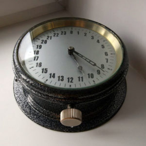 Soviet Military Navy Submarine 24-Hours Clock