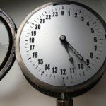 Soviet Military Navy Submarine 24-Hours Clock