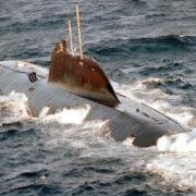 Submarine Shchuka-B Akula