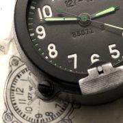 Russian Tracked Military Vehicle 9-Day Clock Molnija 127 ChS.