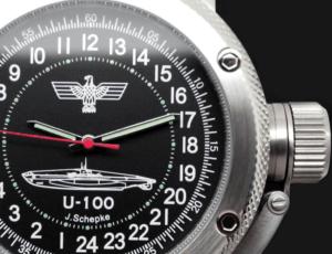russian 24-hours watch german submarine u-100
